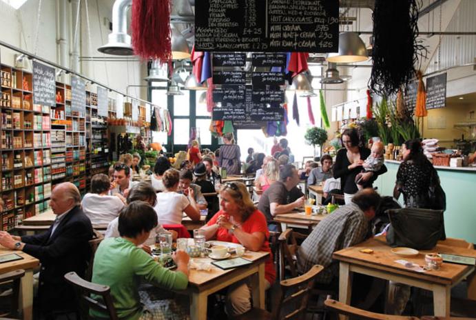 ambiente-en-el-restaurante-bills-de-londres