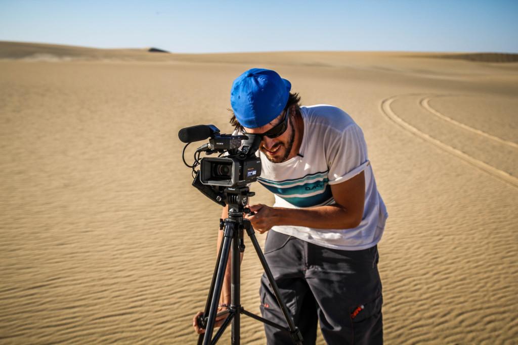 Mochileros-TV-rodando-en-Egipto