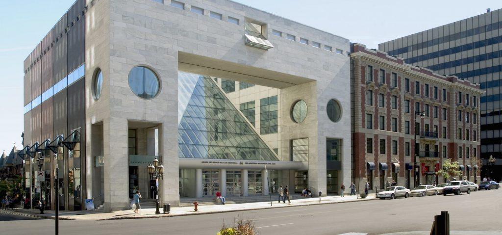 Exterior Museo Bellas Artes Montreal