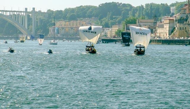 Sandeman y Rozès disputaron el primer lugar durante la regata